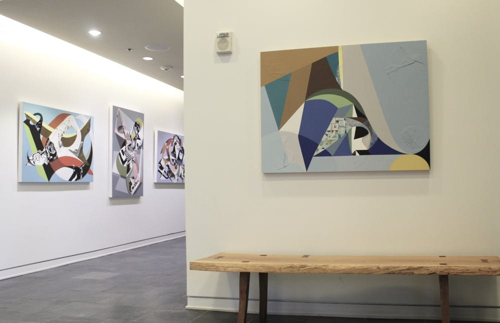 "<p>The ""Transcending Geometry"" exhibition&nbsp;housed by Oneoneone, a contemporary art gallery inside of Sitzer-Spuria Studios, features Chapel Hill artists Chieko Murasugi, Neil Patterson and Louis Watts.</p>"