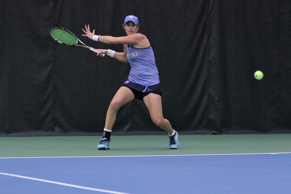 Coach Brian Kalbas sets all-time wins record for UNC tennis