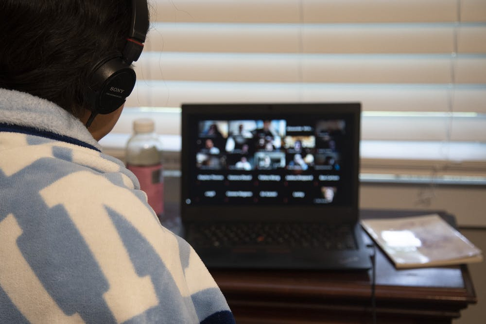 Some at UNC have privacy, data security concerns with using Zoom platform for learning