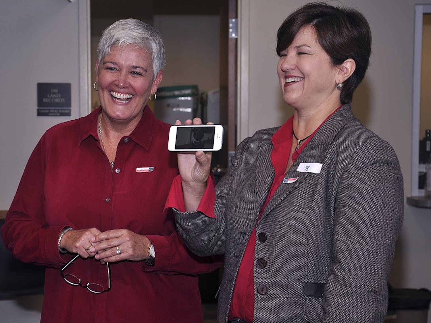 Same-sex couples were allowed to register for marriage licenses for the first time on Monday Oct. 13, 2014, at the Orange County Register of Deeds in Hillsborough.