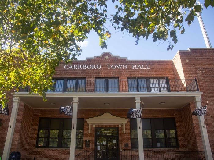 The NCBOE ordered the Town of Carrboro to take down their Black Lives Matter flags on the town hall building. The town says they're staying.