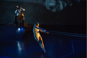 """Dancer Wendy Whelan performing in """"The Day."""" Photo courtesy of Nils Schlebusch."""