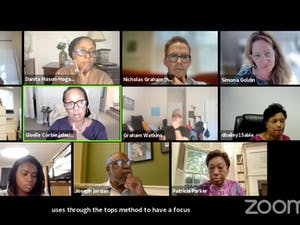 The History, Race and a Way Forward Commission meets via Zoom on Sept. 27.