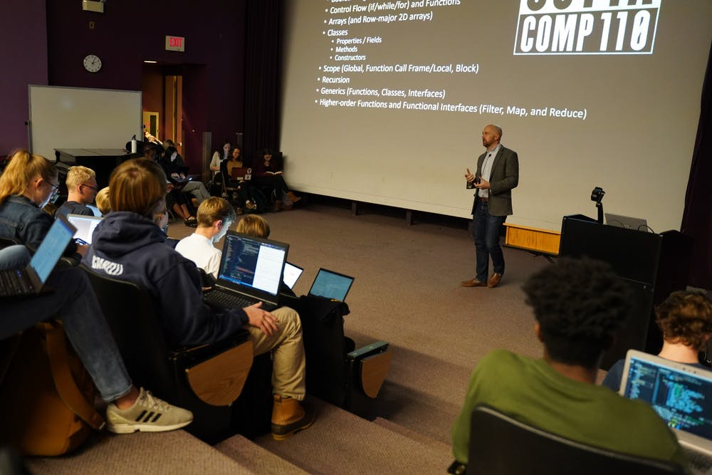 Bigger classes and active learning: technology's impact on UNC classrooms this decade