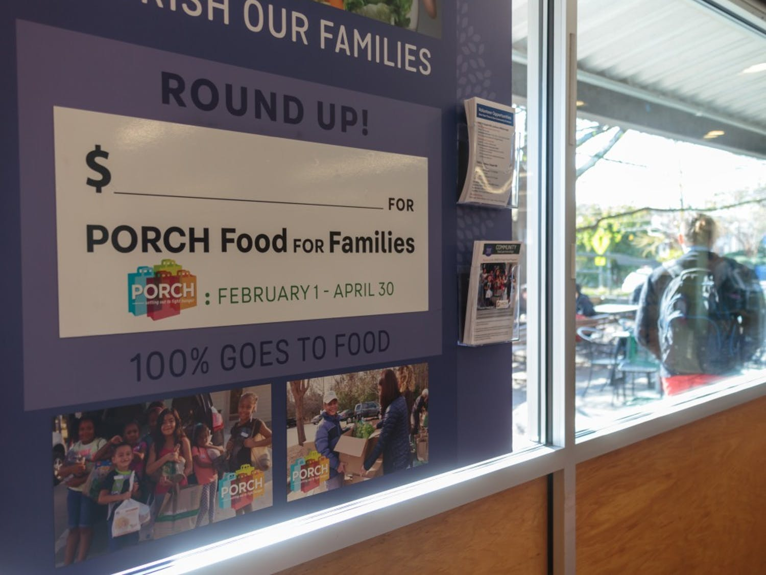 On Feb. 1, Weaver Street Market began a fundraising campaign for PORCH, which will run through April 30, 2019.