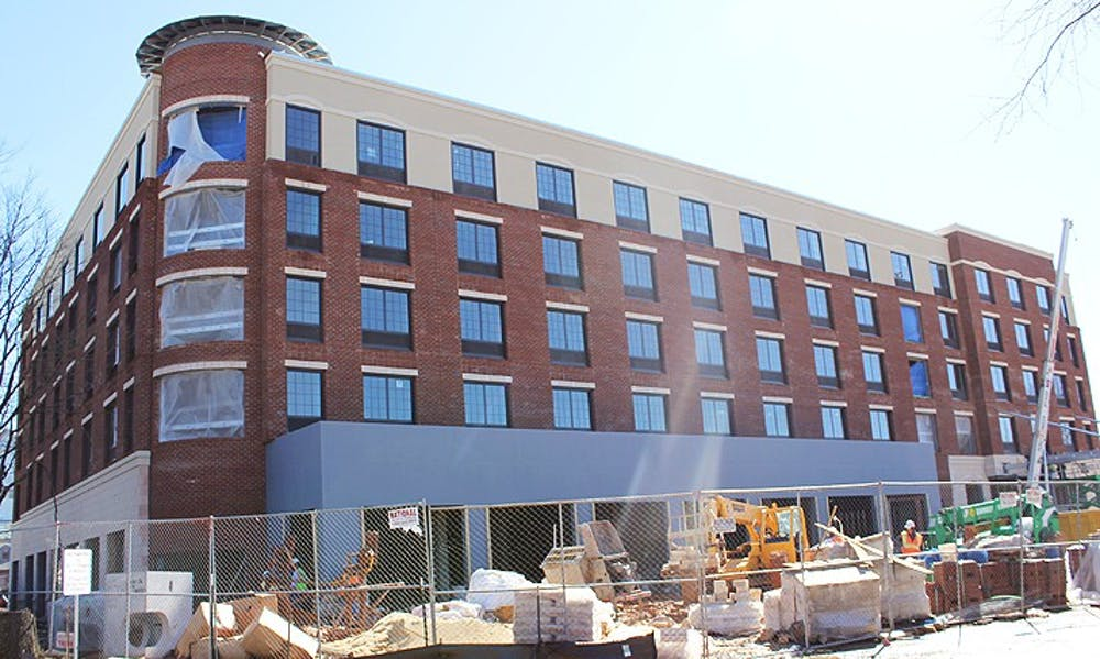 Businesses sign on to 300 East Main development