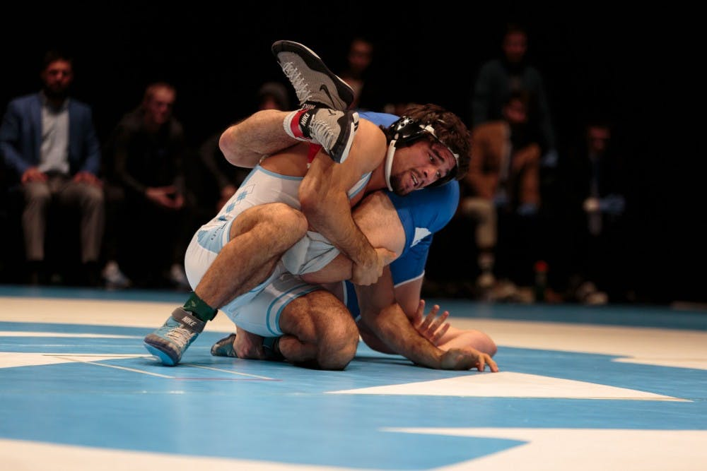 No. 24 UNC wrestling ends regular season with 32-6 loss at Cornell