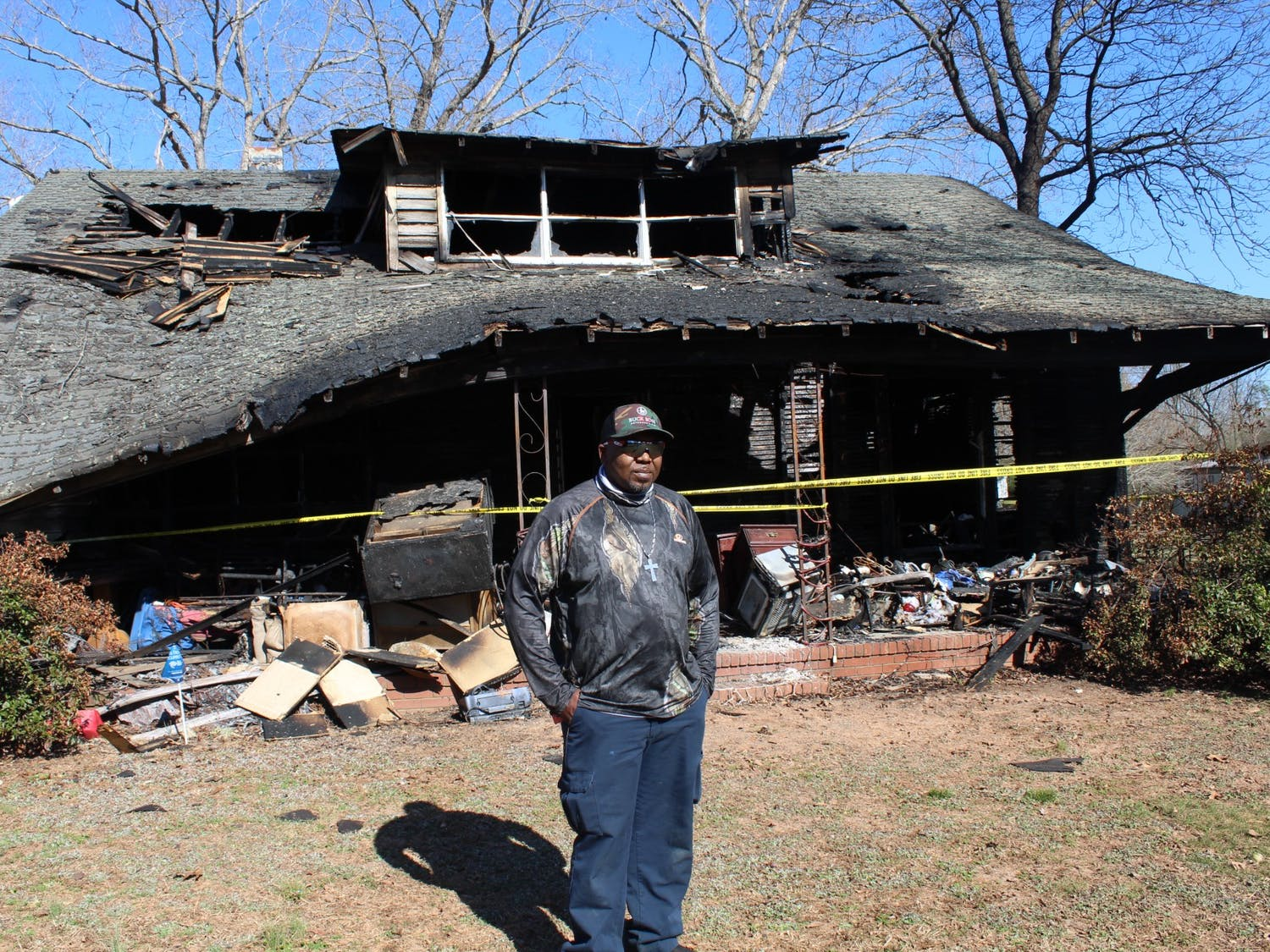 Zim Torain, an employee for the Hillsborough Utilities Department, lost his home in a house fire in February. The town is now rallying in support of him and his family, working to provide much needed items that were lost in the fire.