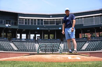 During his 13 years as coach at North Carolina, Mike Fox has rejuvenated the baseball program and helped plan the $25 million renovation of Boshamer Stadium.