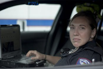 Officer Cox, a police officer working for Carrboro NC, took a moment to reflect on the recent vehicle thefts in the Carrboro area on Sunday, Oct. 6, 2019. She mentioned that it's an issue that could be avoided if people would lock their car doors.