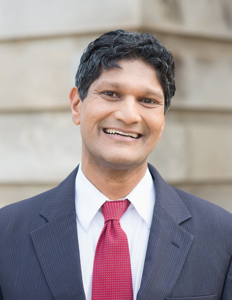 Jay Chaudhuri for NC Senate campaign photo