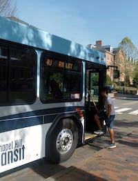 The North Carolina Department of Transportation made budget cuts to the State's Maintenance Assistance Program (SMAP), which the Chapel Hill Transit relies on, reducing more than 23% of payment to CHT in 2019. Resolution of the budget cuts is geared towards demonstrating the dependency of the community on the free transportation system.