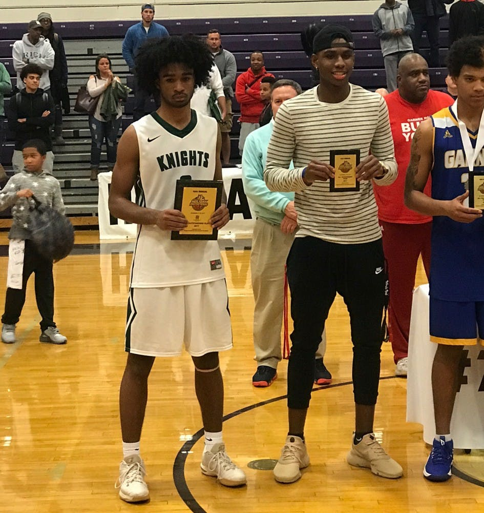 Coby White breaks 27-year-old scoring record as Greenfield finishes second in John Wall Holiday Invitational
