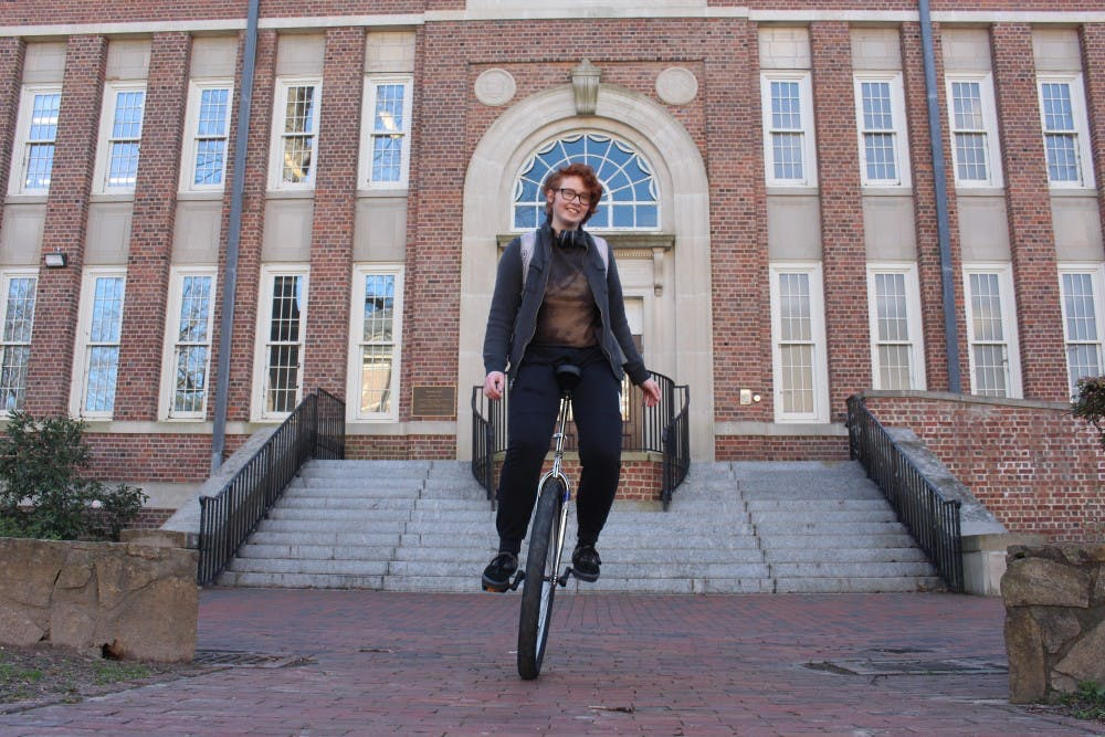 We talked to that first-year who unicycles everywhere