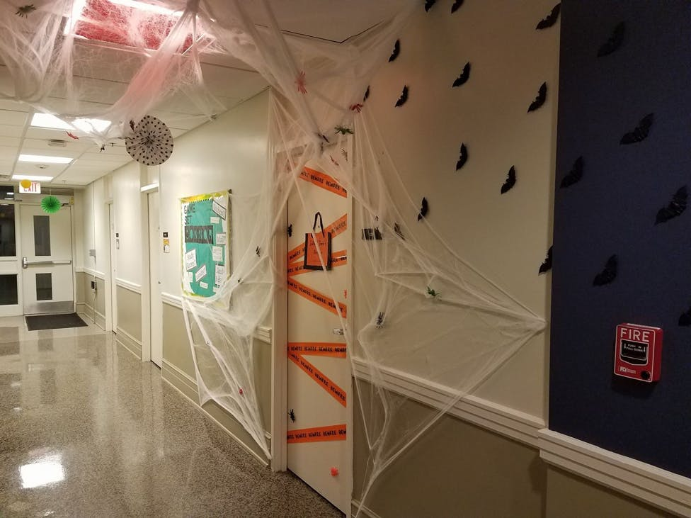 UNC students get into the Halloween spirit with dorm decor