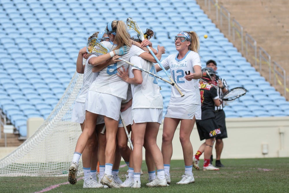 North Carolina women's lacrosse leverages second-half burst to defeat Syracuse, 20-11