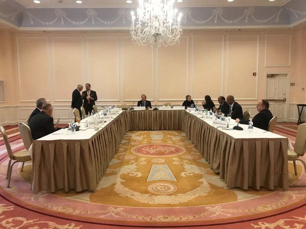 Board of Trustees braces for membership shake-up at final meeting for many trustees
