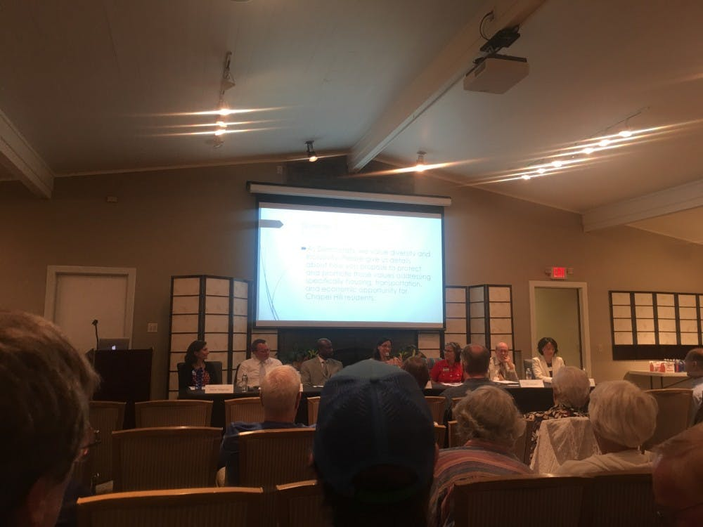 Chapel Hill hosts forum to meet town council candidates