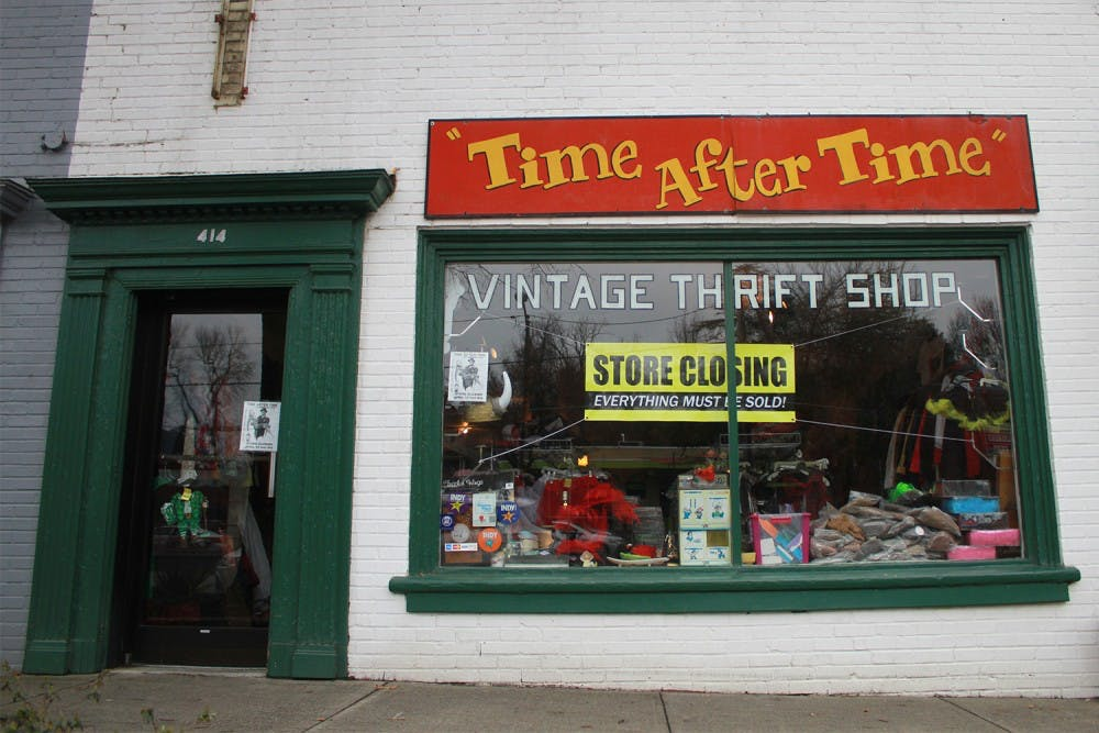 Vintage thrift store Time After Time closes after 33 years in Chapel Hill