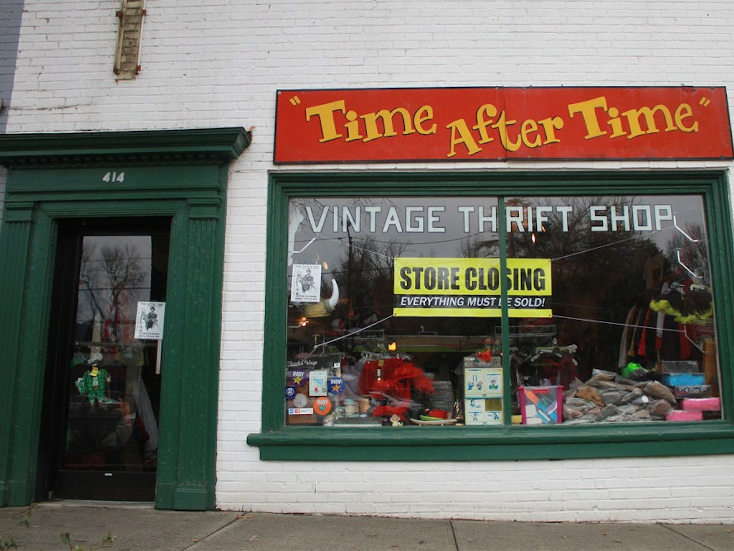 Vintage clothing store Time After Time is closing. Ann Jackson, co-owner, said the decision to close was made for personal, not business, reasons.