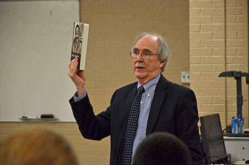 Previous UNC Law School dean John Charles Boger presents an analysis of Julius Chambers' book at a two part event on civil rights at the UNC Law School.