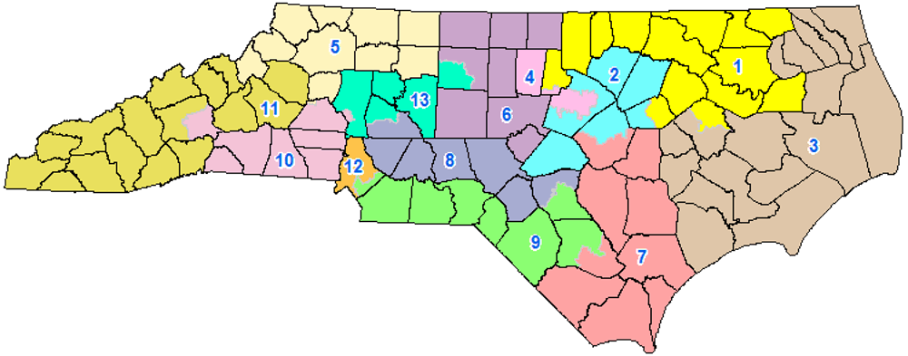 Another gerrymandering lawsuit filed in N.C. challenges congressional district lines