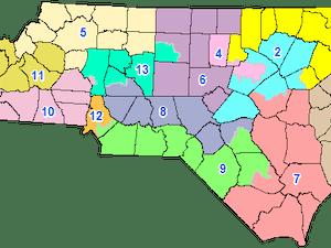 2016 Contingent Congressional Plan of North Carolina.