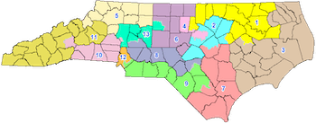 2016 Contingent Congressional Plan of North Carolina.