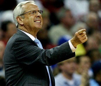 "Roy Williams hasn?t needed to take off his jacket or sub out five players at once this season"" but he?s still keeping the Tar Heels motivated."