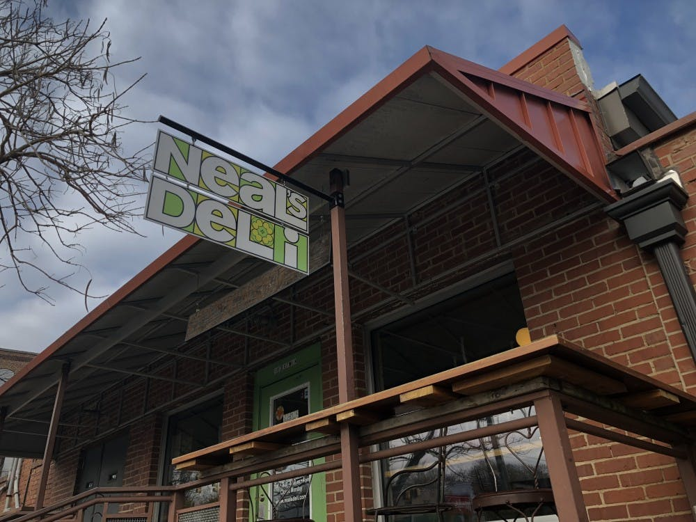 <p>Neal's Deli, located near Open Eye Cafe in Carrboro, is a popular destination for breakfast or lunch.</p>