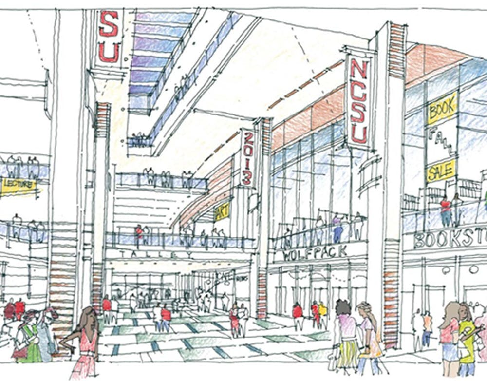 """<p>North Carolina State University is currently renovating the Talley Student Center after a year of strong student opposition, while students at <span class=""""caps"""">UNC</span> debate a $16 fee increase to renovate the bottom floor of the Student Union.</p>"""