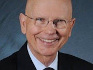 Former Chancellor James Moeser at the University of North Carolina at Chapel Hill.