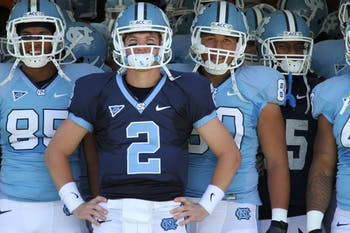 UNC hosted its annual spring football game on Saturday, April 14 at Kenan Stadium.
