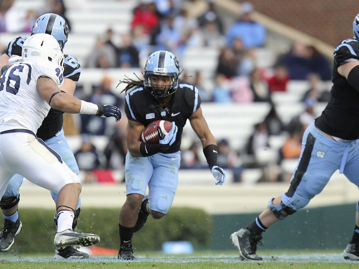 Photos from UNC football's game against Old Dominion on November 23 at Kenan Stadium in Chapel Hill.