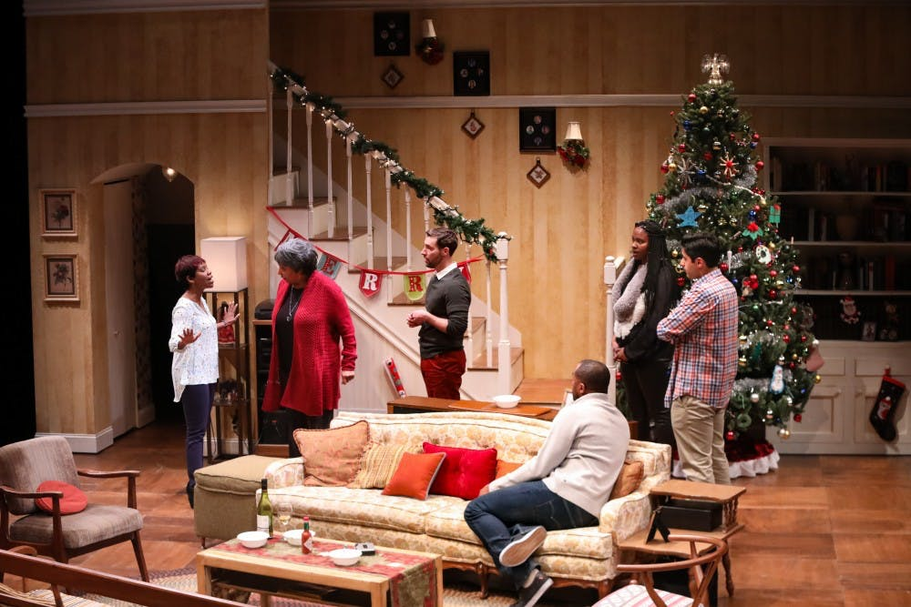 """<p>PlayMakers Repertory Company is performing """"Dot"""" by Colman Domingo Nov. 22 through Dec. 10. Photo courtesy HuthPhoto.</p>"""