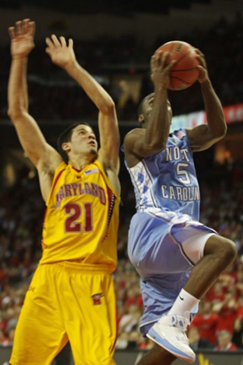 Though Ty Lawson tried once again to save the Tar Heels single-handedly Saturday at Maryland junior guard Greivis Vasquez had other plans. Vasquez finished with 35 points 11 rebounds and 10 assists.
