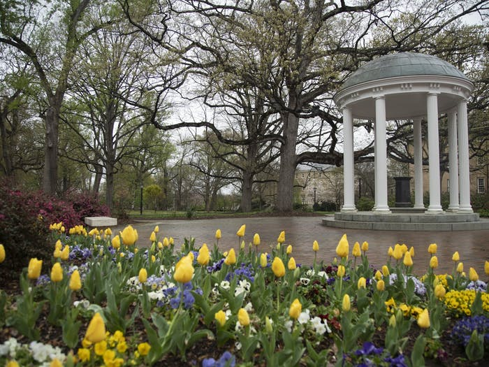 The Old Well pictured on Monday, March 23, 2020.