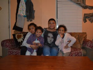 Belen Alvarado and her three children live in Lakeview Mobile Home Park.