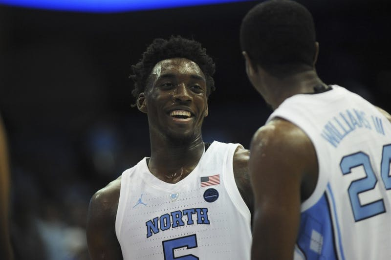 UNC men's basketball beat Mount Olive in an Exhibition game on Friday Nov. 3 107-64.