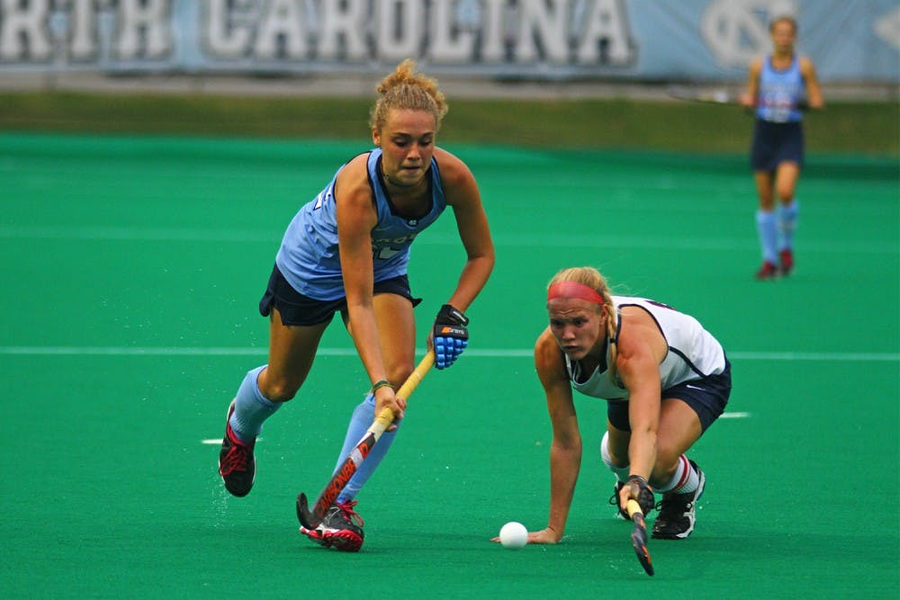 First-year Eva van't Hoog makes herself a new home at UNC