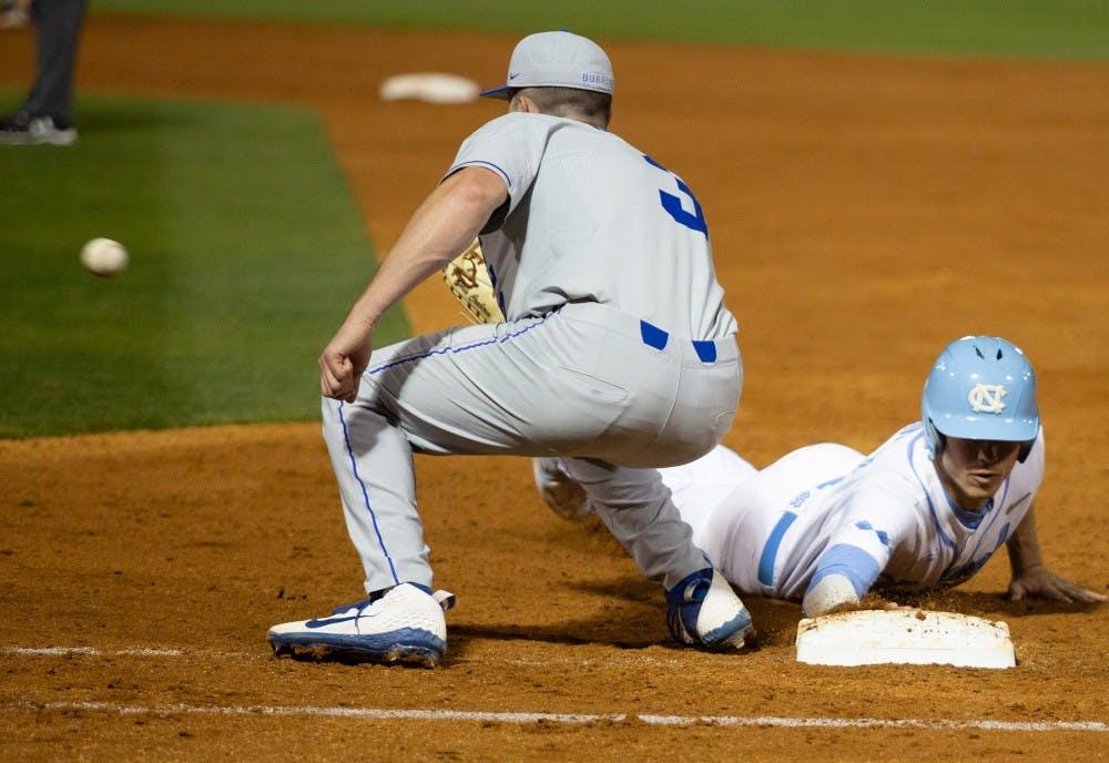 Explosive seventh inning gives UNC baseball series sweep over Duke