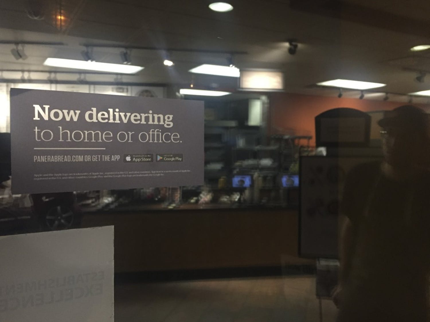 No matter where you live, on or off campus, sometimes you just need food delivered.