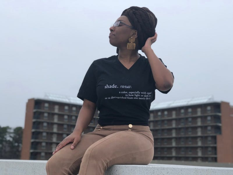 """""""shade."""" will use spoken word, artistry, dance and other arts-related channels to highlight female-identifying members of minority groups. Photo courtesy of Nya Anthony."""