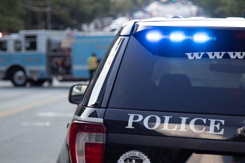 An accident occurred at the Franklin Street and Mallette Street intersection on Sunday, Sept. 29. 2019.