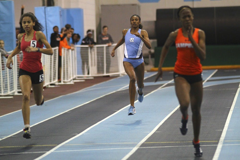 Nicole Greene earns All-ACC honors at ACC Indoor Track and Field Championships