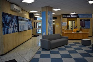 A resident of Hinton James Residence Hall was reported dead.
