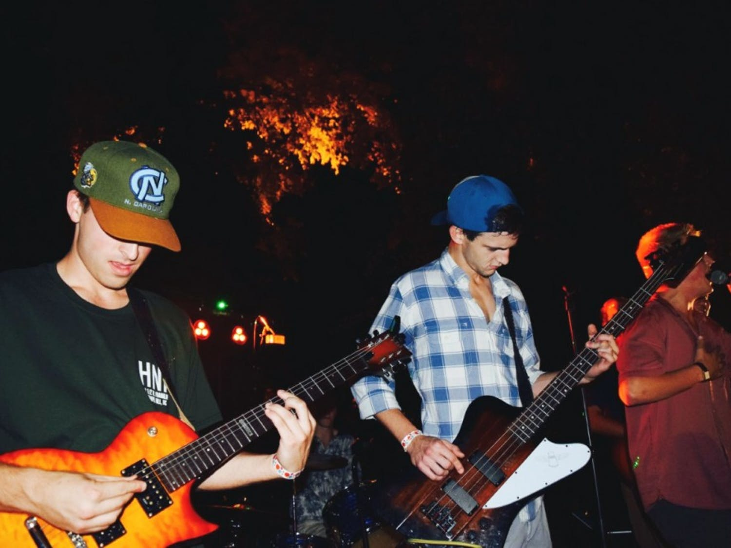 The band 'Left on Franklin' was founded in spring 2015 by six Beta Theta Pi fraternity members and students and will be releasing a four track EP on Aug. 1 (courtesy of Sallie DuBose).