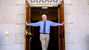 Bob Anthony, curator of the North Carolina Collection and director of the North Carolina Digital Heritage Center is retiring on May 31, 2021. Photo courtesy of Jon Gardiner.