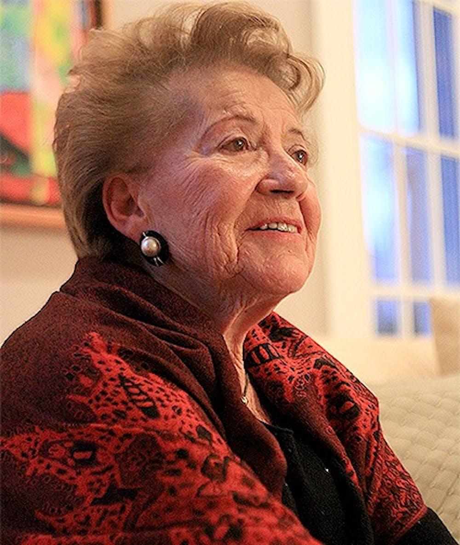 Holocaust survivor discusses wartime experiences