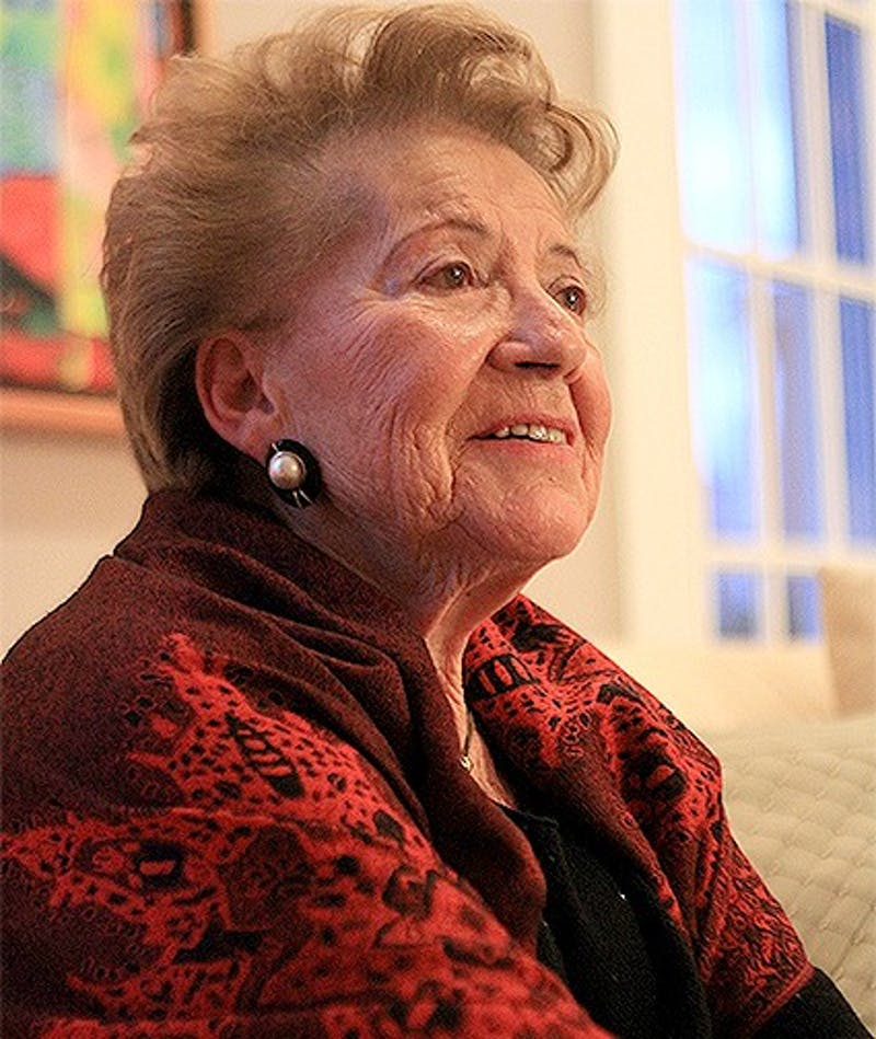 Esther Lederman will be telling her story in the Sonja Haynes Stone Center today at 5:30 p.m.